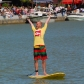 SUP Race Münster - Winning Man Klaas van Lil