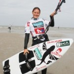 Kite Surf World Cup St. Peter-Ording – Tag3: Kirstin Boese momentan auf Platz 2
