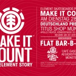 element – Make it Count Filmpremieren in Münster und Wien