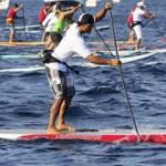 Ekolu Kalama gewinnt Stand Up Paddle Molokai Race