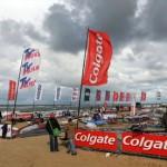 Kein Wind am ersten Tag des Colgate Windsurf World Cups