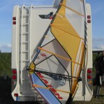 Test 2010er Naish Force 4,2 Windsurfsegel