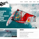Naish 2010 Windsurfing Website ist online!