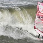 Aufeinandertreffen der Windsurf Titanen am letzten Tag des Colgate World Cups auf Sylt