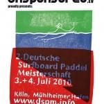 Deutsche Surfboard Paddelrace & SUP Meisterschaft 2010 in Köln