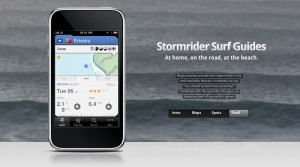 stormrider surf guide iphone