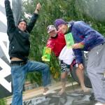 Rip Curl German Sup Challenge 2010 feiert seine Sieger