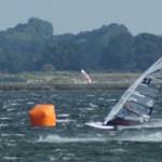 Steffi Wahl und Gunnar Asmussen gewinnen Speed DM bei Nordswell Speedsurfing Tour