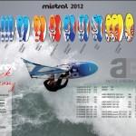 Mistral stellt Windsurf Palette für 2012 vor