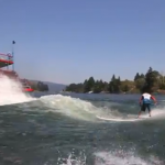 SUP Wavesession hinter Raddampfer – Video