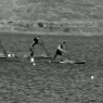 sup paddle technik - plunge stroke