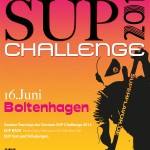German SUP Challenge 2012 am 16.06. in Boltenhagen
