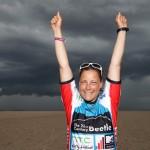 Christine Bönniger gewinnt die ersten drei Races beim Beetle Kitesurf World Cup 2012