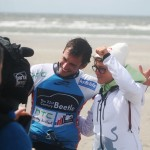 Youri Zoon und Gisela Pulido gewinnen Freestyle Double Elimination beim Beetle Kitesurf World Cup