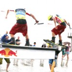 Winch Session beim Beetle Kitesurf World Cup 2012
