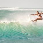 Surferin Janni Hönscheid unterschreibt bei Chiemsee