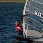 Michael Naumann verteidigt Deutschen Meister Titel im Speedsurfen