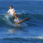 Dual Blade SUP Paddle von Race Hawaii