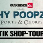 ITCHY POOPZKID auf Akustik Shop Tour durch Deutschland