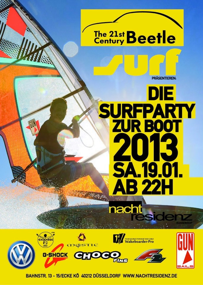 surf party boot nachtresidenz
