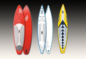 inflatable sup boards test vergleich