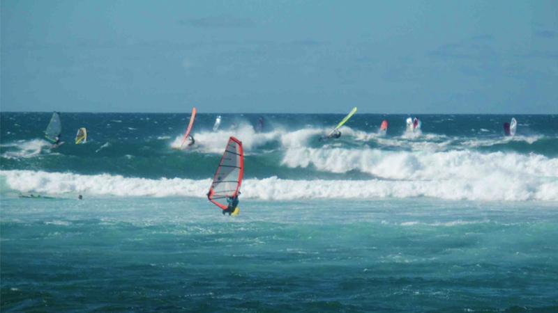 jenny surft windsurfing maui