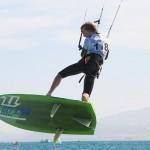 Jannis Maus belegt den 4. Platz bei Kite Racing Continental Championships in Afrika