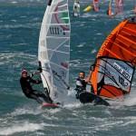 45kts Wind bei Windsurf Slalom Regatta in Hyères
