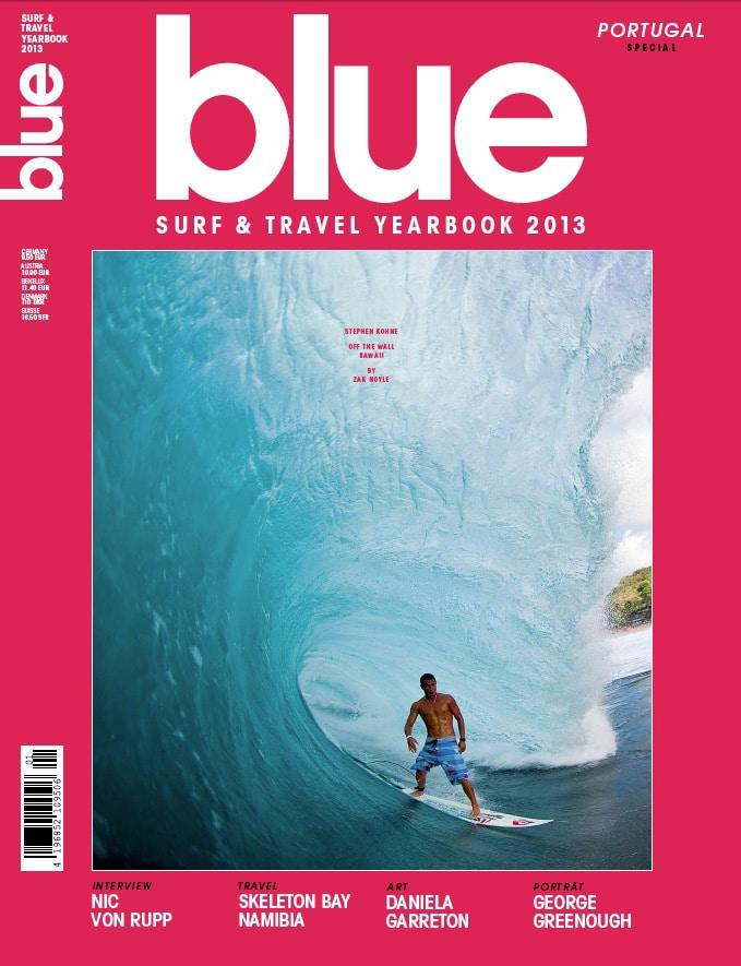 blue magazin surf travel yearbook