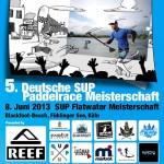 5. Deutsche SUP Flatwater Paddelrace Meisterschaft des DWV präsentiert von REEF