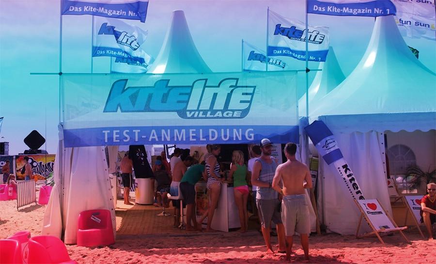 kitelife village kitesurf world cup spo