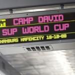 CAMP DAVID SUP World Cup Hamburg wird mit Promi Staffel eröffnet