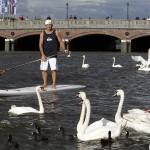 Robby Naish und weiter SUP Ikonen beim SUP World Cup in Hamburg