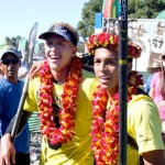 Kai Lenny gewinnt Battle of the Paddle 2013 Elite Race