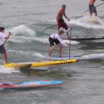Annabel Anderson and Connor Baxter beim Water Warrior SUP Festival