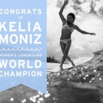 Kelia Moniz gewinnt den ASP Longboard Weltmeistertitel