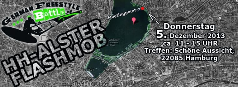 Hamburg Windsurf - FLASHMOB