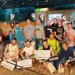 Norman Weber verteidigt German Indoor SUP Championships Titel