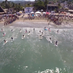 Punta Sayulita SUP Elite Race Highlights aus der Luft