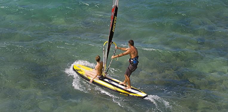 naish crossover air windsurf sup board