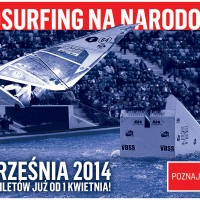 Indoor Windsurf World Cup Warschau 2014