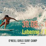 oneill girls surf camp 2014