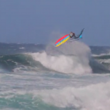 Ricardo Campello wind surfing Hawaii
