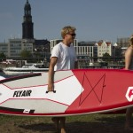 Moin! Moin! Fly Air City Fun SUP Video von Fanatic