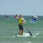Connor Baxter gewinnt CAMP DAVID SUP World Cup Fehmarn 2014