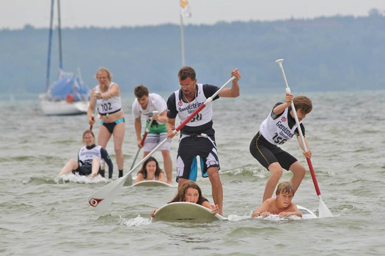 sup rookie race starnberger see