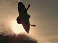 Surf Video mit 1000 Bildern / Sekunde