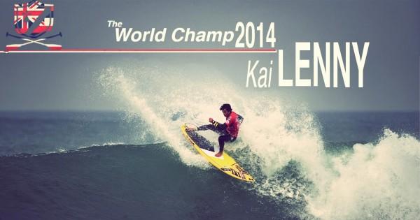 sup wave world champion kai lenny