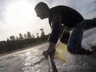 naish raptor sup action