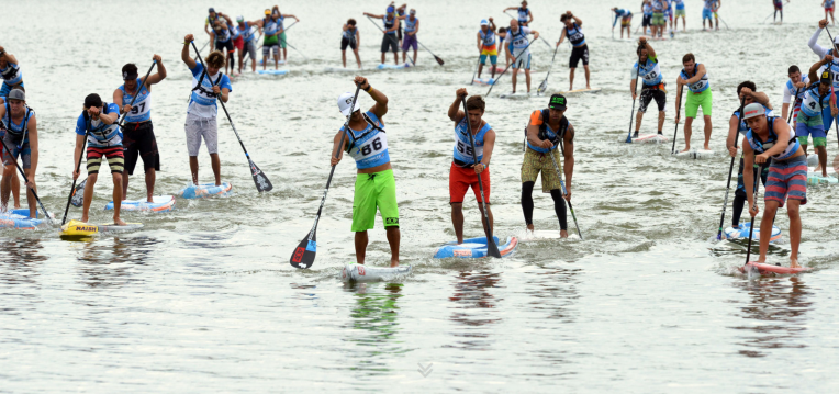 lost mills sup race 2015 brombachsee